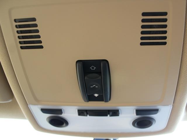 2013 BMW X1 Sunroof controls