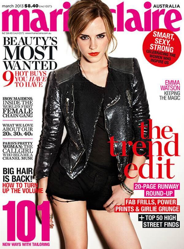 English actress/model Emma Watson