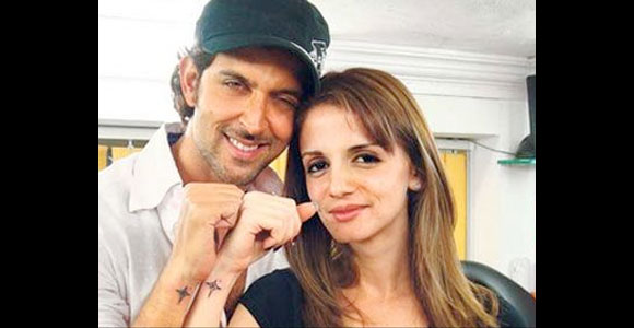 Hrithik Roshan and Suzzane