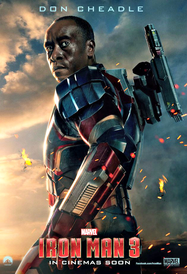 Don Cheadle as James Rhodes