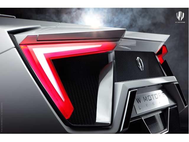 W Motors Lykan Hypercar