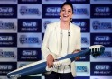Madhuri Dixit during the launch of Oral-B Smile India Movement in Mumbai