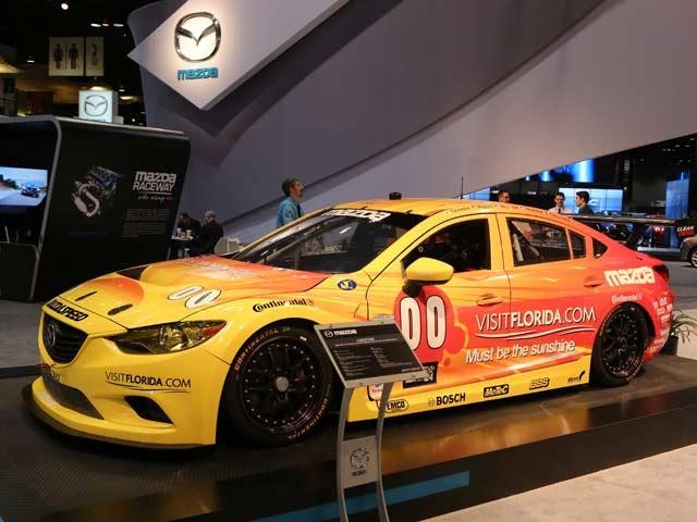 Mazda 6 Grand-Am Road Racing Series Rolex GX Championship