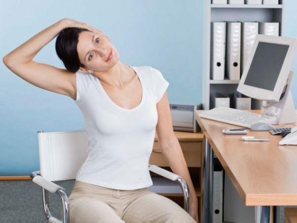 Ergonomics :Exercises at work station