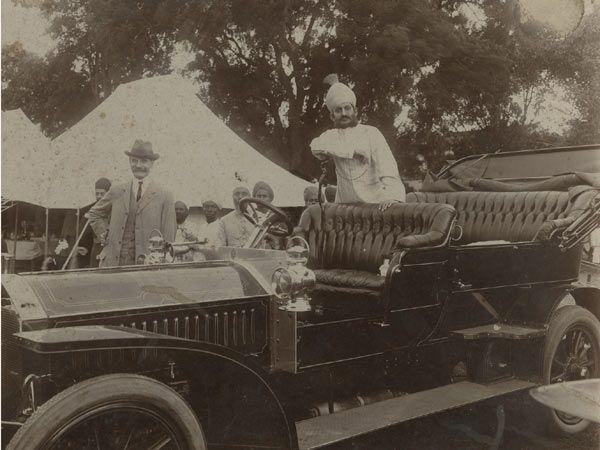 1906 Napier Colonial Tourer