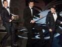 Joseph Gordon Levitt, Seth MacFarlene and Daniel Radcliffe