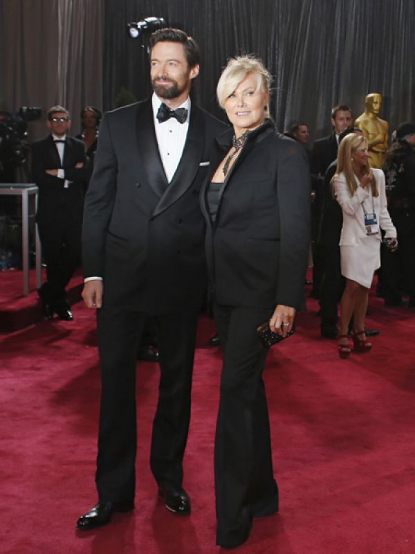 Hugh Jackman & Deborah Lee Furness