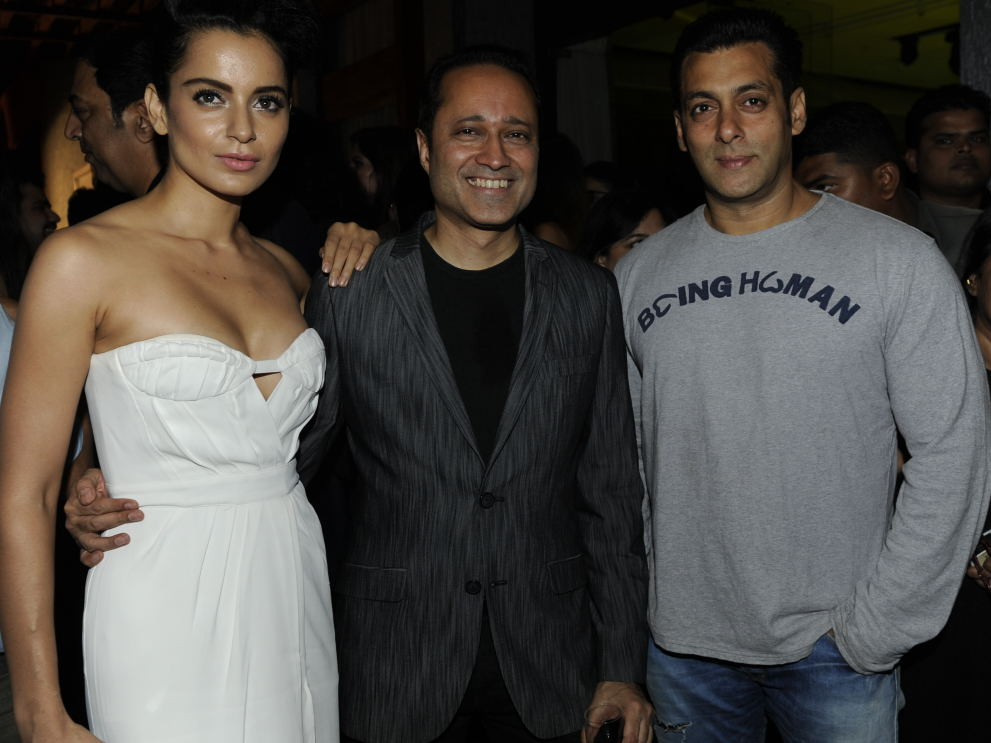 Times Group MD Mr Vineet Jain, Kangana Ranaut, Salman Khan