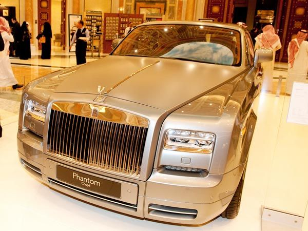 Perhaps the most prestigious of them all was the Rolls-Royce Phantom Aviator. A limited-to-35 edition, this one's valued at over $660,000.