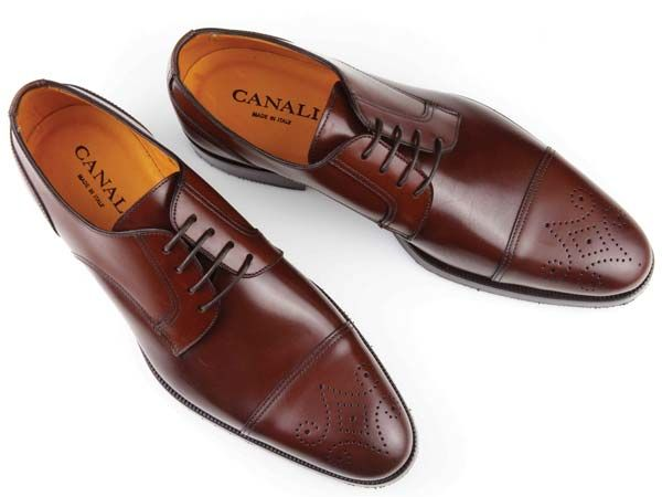 Perforated oxfords by Canali