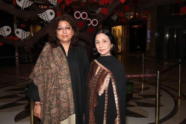 Madhu Jain with Leena Singh
