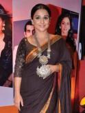 Vidya Balan in a tribal-inspired necklace by Amrapali