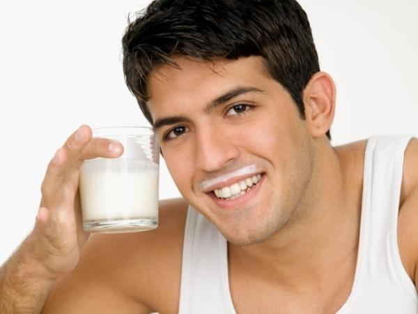 Milk and turmeric