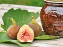 Homemade fresh fig marmalade