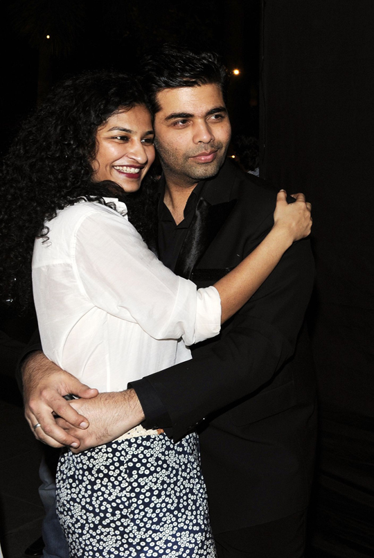 GAURI SHINDE AND KARAN JOHAR