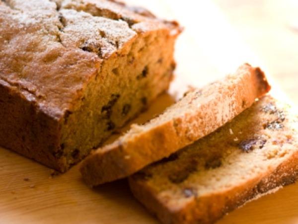 Healthy Banana Recipe #19: Dark Chocolate Raspberry Oatmeal Banana Bread