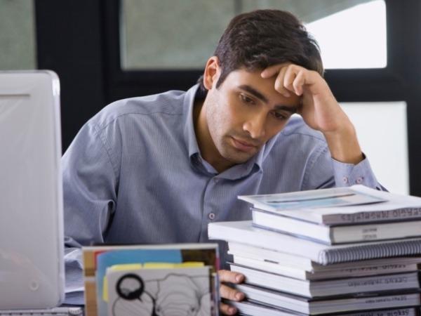 Stress causes hair balding