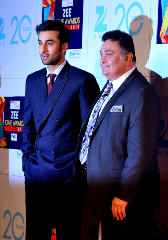 RANBIR AND RISHI KAPOOR