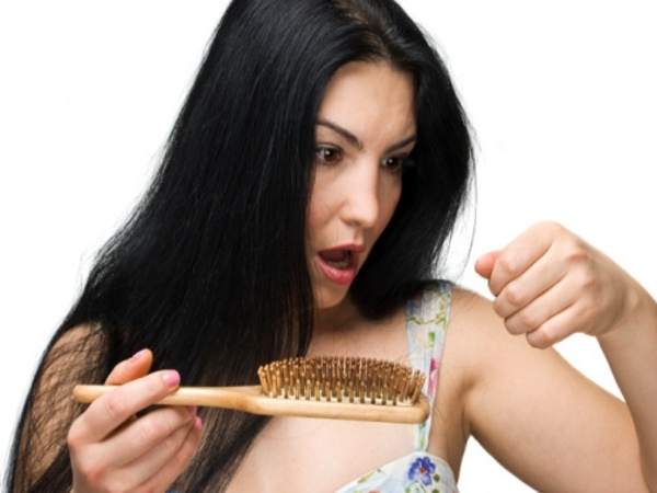 Massaging and brushing reduces hair loss