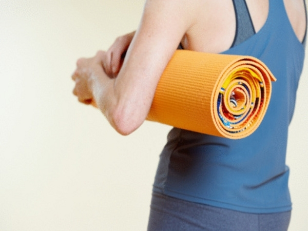 Little Investments for Good Health # 11: Buy a yoga mat