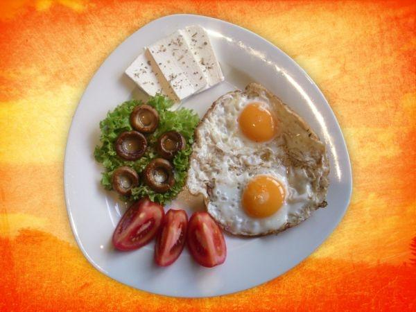 Healthy Egg White Omelet