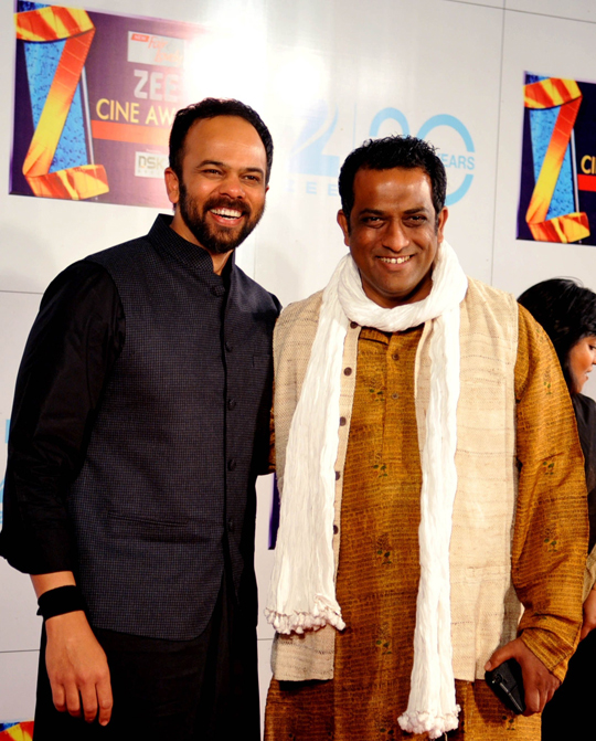 ROHIT SHETTY AND ANURAG BASU