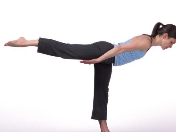 One Leg Balance Reach