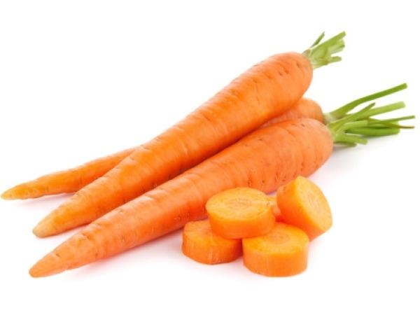 Healthy Gluten Free Snack # 5: Carrot sticks