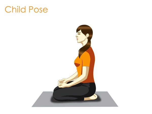 Child Pose(Shishuasana)