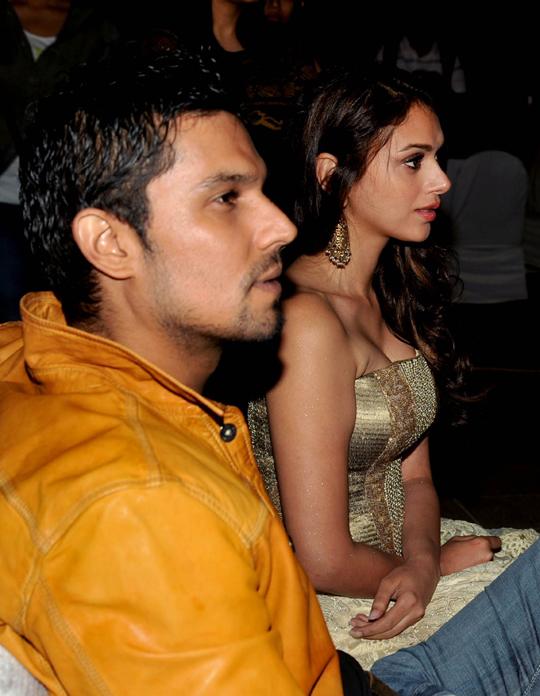 Randeep Hooda and Aditi Rao Hydari