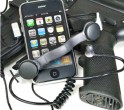 Black Ops Throat Mic iPhone Headset