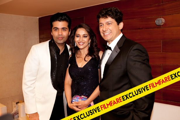 KARAN, MADHURI AND DR. NENE