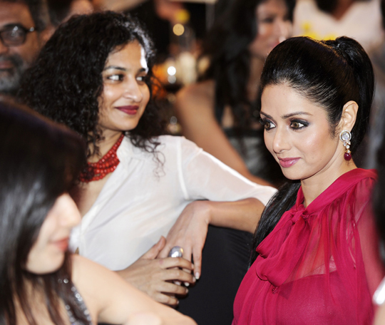 GAURI SHINDE AND SRIDEVI
