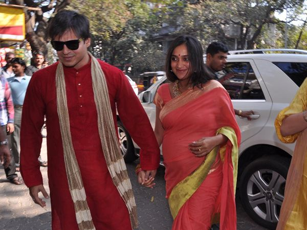 Vivek Oberoi & wife Priyanka Alva