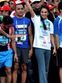 Tara Sharma and Rahul Bose