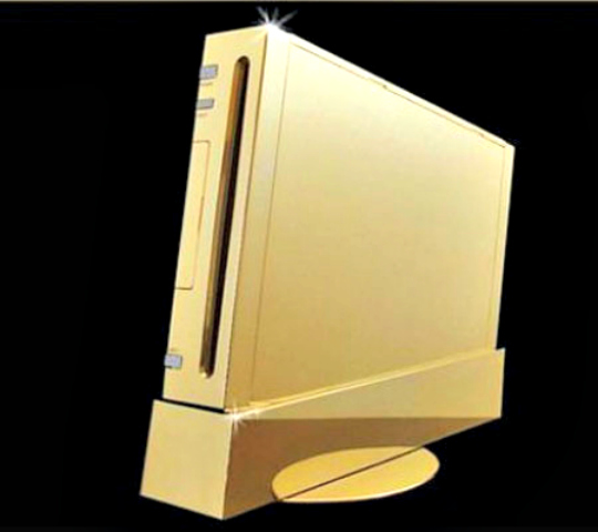 Stuart Hughes Gold Gaming Console