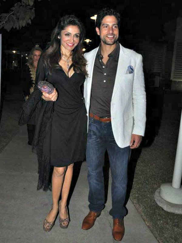 Queenie Singh & CSI star Adam Rodriguez