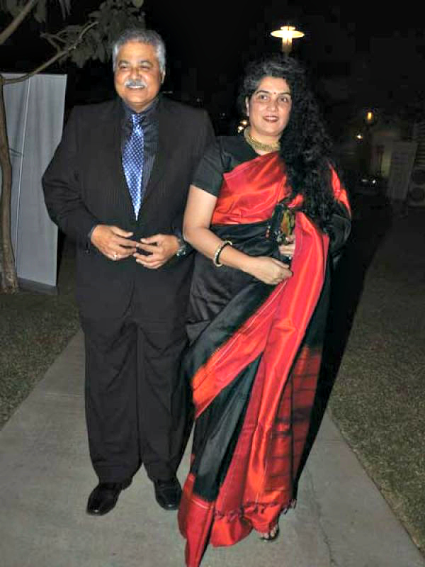Madhoo and Satish Shah