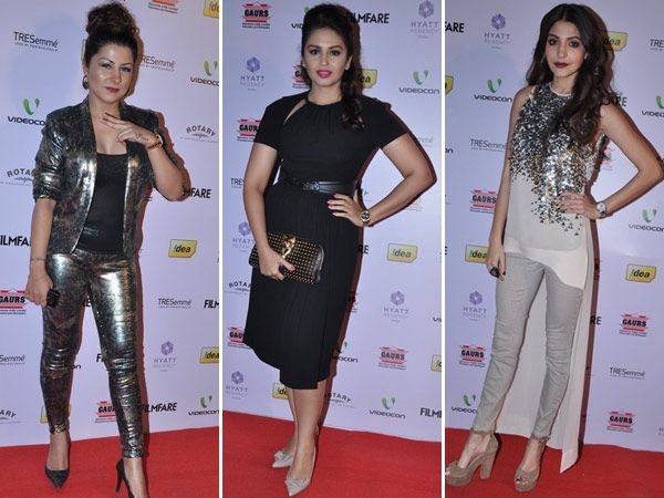 Ugliest Outfits at Filmfare Awards Nomination Party