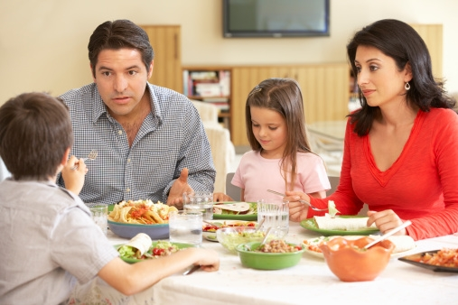 Picky Eater: Shouting makes it harder all round