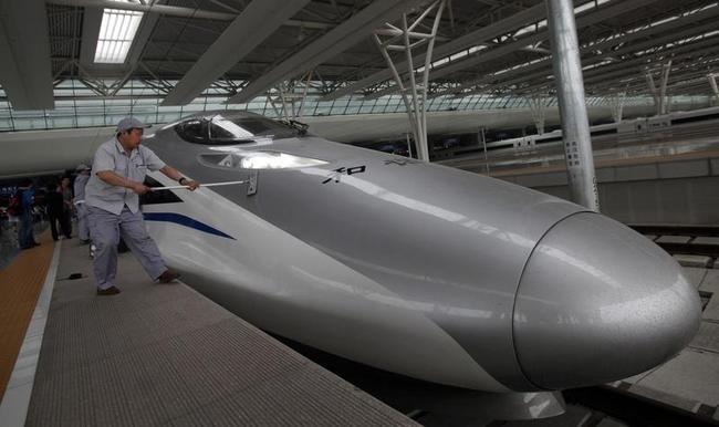 Chinese Bullet Train 380A