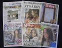 The Newspaper Headlines Screamed So