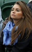 Anfisa Bulgakova, the wife of Sergiy Stakhovsky of Ukraine