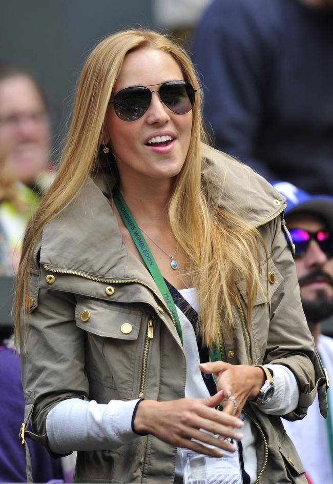 Jelena Ristic, girlfriend of Serbia
