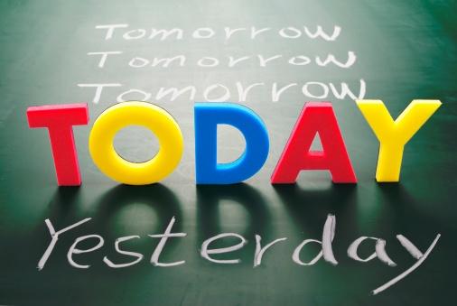 Tip for a Stress-Free Life # 12: Never procrastinate