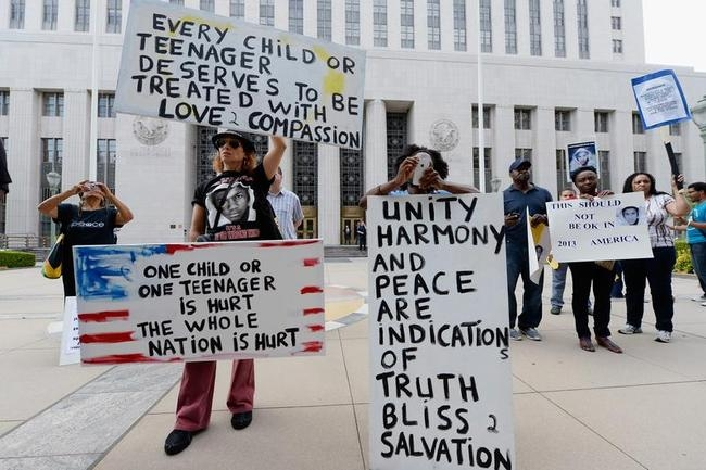 """""""Justice For Trayvon"""" Rallies"""