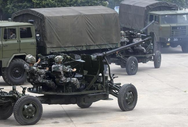 PG59 57mm Anti-Aircraft Artillery Gun