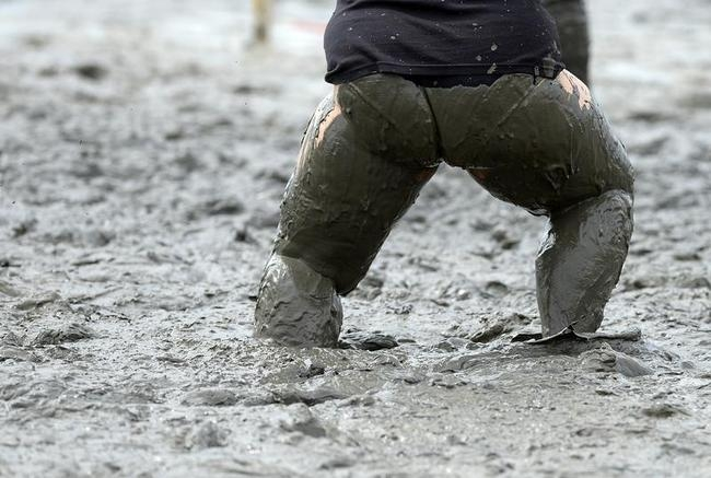 Mud Olympics in Germany