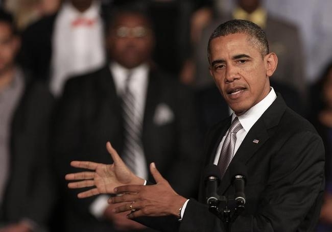 Obama Gives Speech At University of Cape Town