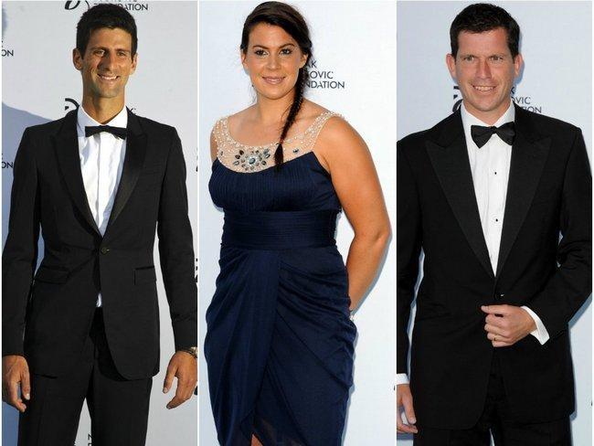 Tennis Stars Go Glam at Gala Dinner